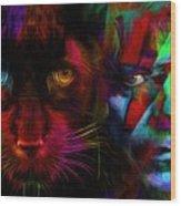 David Bowie - Cat People  Wood Print