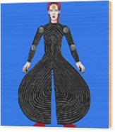 David Bowie - Moonage Daydream Wood Print