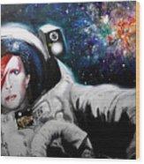 David Bowie, Star Man Wood Print