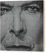 David Bowie - Eyes Of The Starman Wood Print