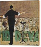 David Devant Poster C1910 Wood Print