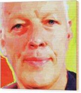 David Gilmour # 001 Nixo Wood Print