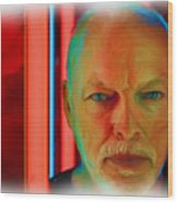 David Gilmour Red,nixo Wood Print