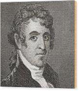 David Humphreys,1752 To 1818 Wood Print