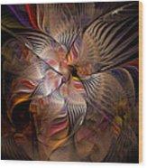 Davinci's Musings Wood Print