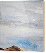 Davis Mountains Wood Print