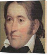 Davy Crockett  Wood Print