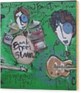 Davy Knowles And Back Door Slam Wood Print