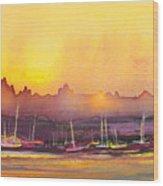 Dawn 10 Wood Print