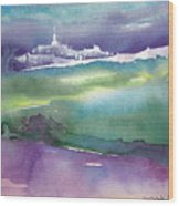 Dawn 14 Wood Print