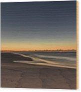 Dawn And The Sea Wood Print