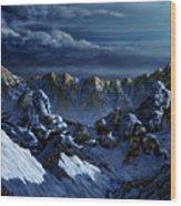 Dawn At Eagle's Peak Wood Print
