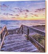Dawn Colors Wood Print