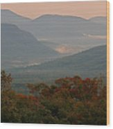 Dawn In The White Mountains Wood Print