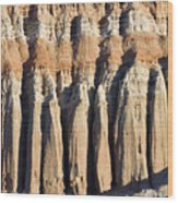 Dawn Light On The Cliffs At Red Rock Wood Print