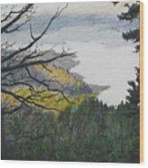 Dawn Over Eagle Nest Lake Wood Print