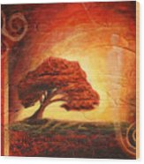 Dawning Light Wood Print