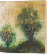 Dawns Dew 2  Wood Print