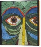 Day Dreamer - Fantasy Face No. 8 Wood Print