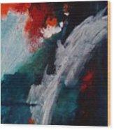 Daybreak At The Falls Wood Print