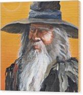 Daydream Wizard Wood Print
