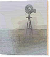 Days Of Wind Wood Print