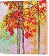 Daytime Diversity Wood Print