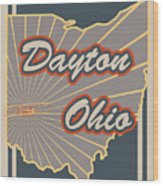 Dayton Ohio Wood Print