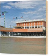 Daytona Beach Pier Wood Print