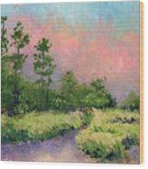 Daytona Pines Wood Print