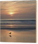 Daytona Sunrise Wood Print