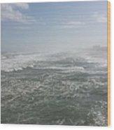 Daytona Waves Wood Print