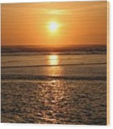 Dazzling Cannon Beach Wood Print