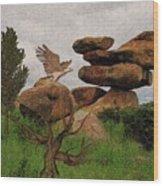 Dblad Eagle 6 Wood Print