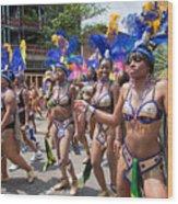Dc Caribbean Carnival No 10 Wood Print