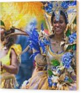 Dc Caribbean Carnival No 19 Wood Print