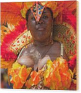 Dc Caribbean Carnival No 23 Wood Print by Irene Abdou