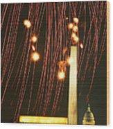 Dc Fireworks Wood Print