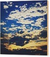 Dc Sunset Wood Print