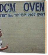 Dcm Oven Wood Print