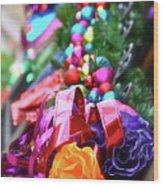 De Colores Wood Print