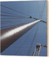 de Mast Wood Print