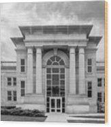 De Pauw University Emison Building Wood Print