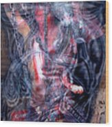 Dead 1 Wood Print