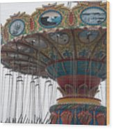 Dead Carnival Wood Print