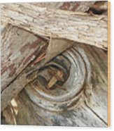 Dead Eye Tumble Wood Wood Print