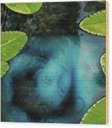 Dead Girl In The Pool Wood Print