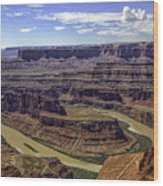 Dead Horse Point View Wood Print