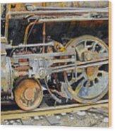 Dead In Its Tracks Wood Print