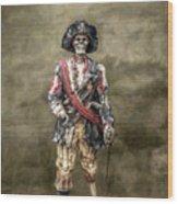 Dead Men Tell No Tales Wood Print by Randy Steele